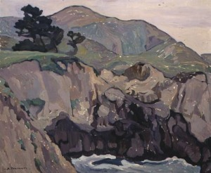 Anne Bremer, The Highlands, ca. 1920, San Francisco Museum of Modern Art