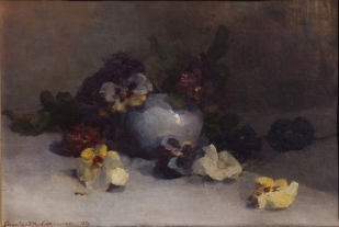 Pansies 1894 reduced
